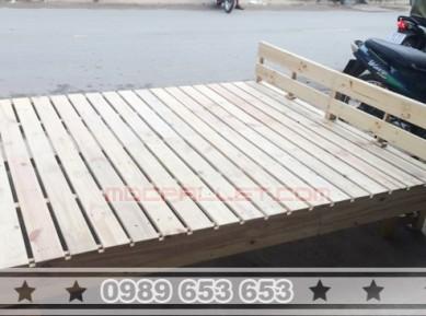 Giường ngủ gỗ thông pallet đẹp GN22