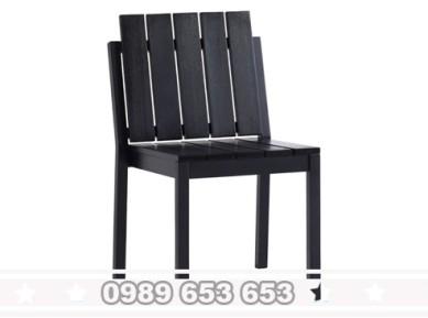 Ghế chân sắt mặt gỗ GGS8