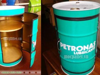 Tủ thùng phi sắt đẹp TP39