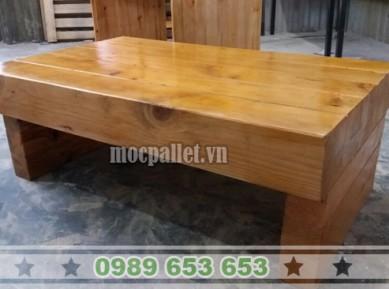 Bàn khối gỗ thông BT22