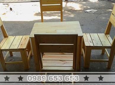 Bộ bàn ghế trà sữa BG72